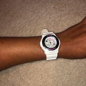Baby G White Watch